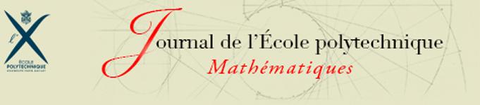Journal de l'École polytechnique — Mathématiques